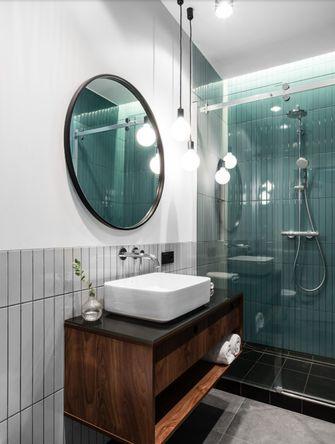 80平米三室两厅现代简约风格卫生间装修图片大全