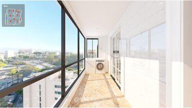 140平米四室两厅美式风格阳台图