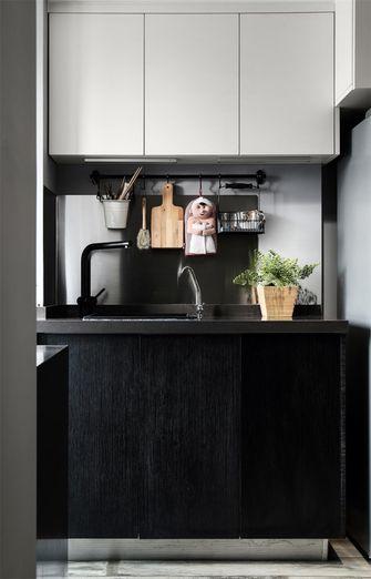 50平米现代简约风格厨房装修图片大全