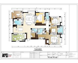 140平米四室两厅其他风格阁楼设计图