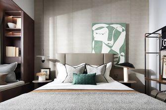 90平米现代简约风格阁楼设计图