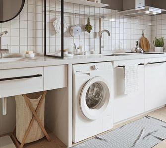50平米一室一厅宜家风格厨房图片大全