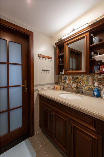 120平米三室两厅中式风格卫生间装修案例