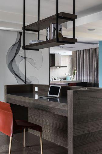 70平米公寓现代简约风格书房效果图