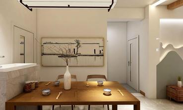 60平米中式风格餐厅装修案例
