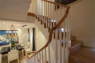 140平米三室三厅地中海风格楼梯间效果图