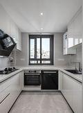 130平米四室两厅混搭风格厨房装修图片大全