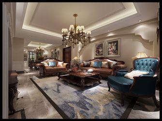 140平米四室两厅田园风格客厅图片大全
