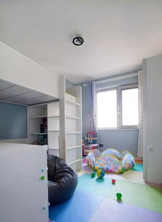 80平米北欧风格儿童房图片大全