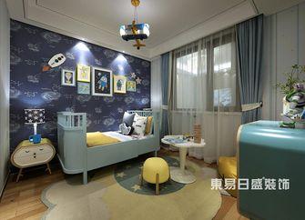 80平米三室一厅现代简约风格儿童房图片大全