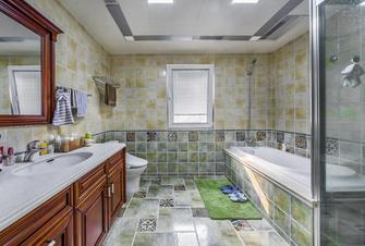 130平米三室两厅美式风格卫生间装修效果图