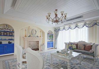 130平米一室两厅美式风格客厅装修效果图