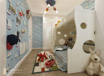 120平米三室两厅中式风格儿童房图片大全