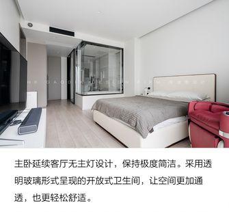 140平米一室两厅现代简约风格卧室装修图片大全