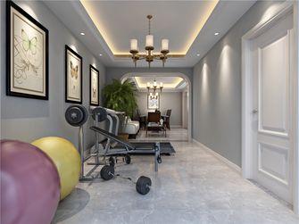 140平米复式美式风格健身室设计图
