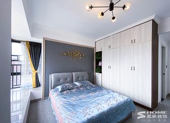 120平米三现代简约风格卧室装修效果图