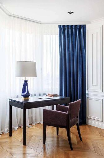 140平米四室一厅法式风格书房图片