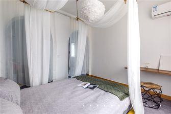 110平米三室一厅地中海风格卧室设计图