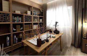 140平米四中式风格书房效果图