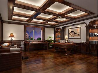 140平米别墅英伦风格书房图片大全
