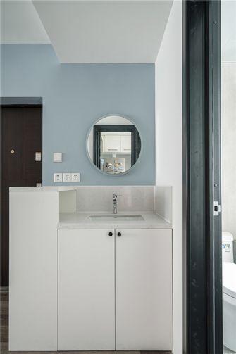 50平米一室两厅北欧风格卫生间效果图