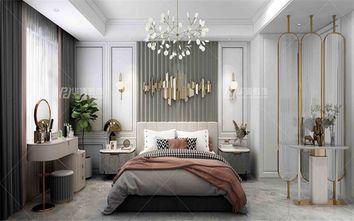 90平米三美式风格卧室图片