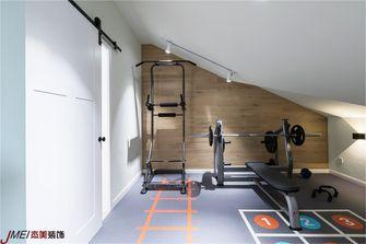 130平米复式北欧风格健身室图片