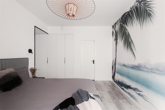 100平米三室两厅宜家风格卧室装修图片大全