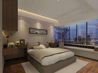 120平米四室两厅英伦风格卧室欣赏图