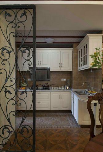 140平米四室一厅美式风格厨房装修图片大全