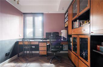 140平米三室两厅美式风格书房效果图