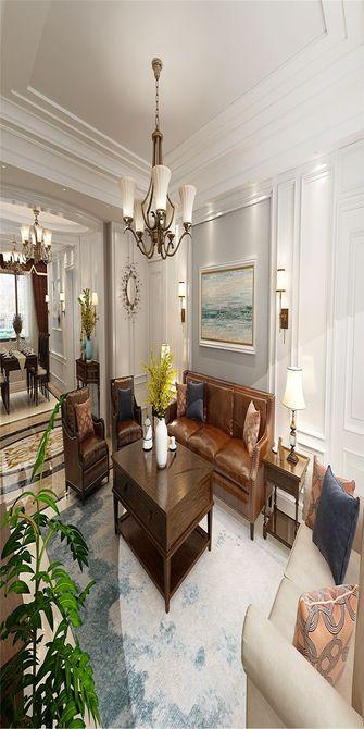 140平米三美式风格客厅效果图