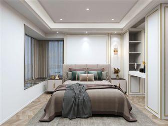 140平米三室三厅美式风格卧室图片大全