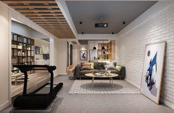 140平米三室四厅北欧风格健身室设计图