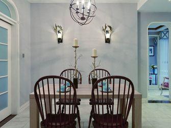 100平米三室一厅地中海风格餐厅装修案例