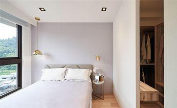 80平米三室两厅混搭风格卧室装修效果图