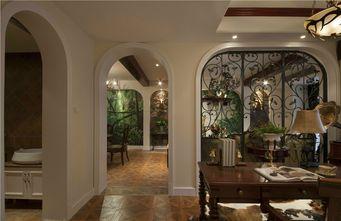 100平米三室一厅美式风格走廊图