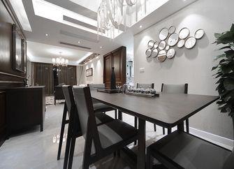 富裕型130平米三室两厅现代简约风格餐厅图片