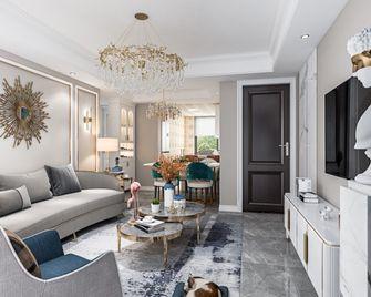 70平米公寓欧式风格客厅图片大全