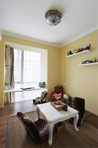 50平米一居室美式风格儿童房效果图