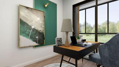 120平米欧式风格书房效果图