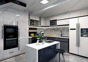 140平米复式现代简约风格厨房效果图