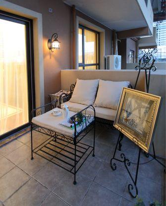 70平米公寓地中海风格阳台装修图片大全