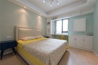 130平米四室两厅北欧风格卧室图片