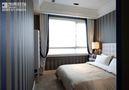 110平米三室两厅现代简约风格卧室壁纸设计图
