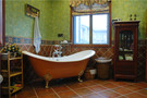 140平米别墅地中海风格卫生间装修效果图