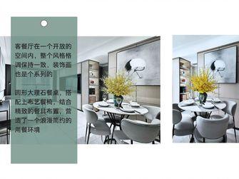 80平米三中式风格餐厅设计图