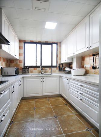 140平米复式美式风格厨房装修图片大全