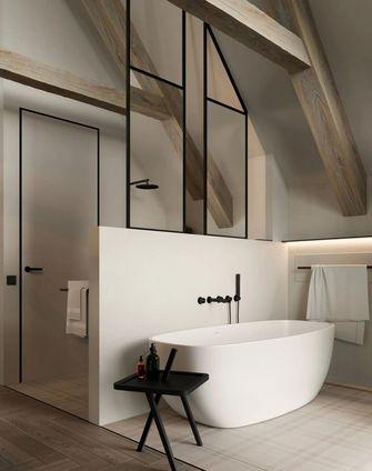 140平米四室两厅宜家风格卫生间图