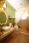 110平米三室两厅美式风格卫生间浴室柜效果图